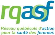 Logo du Réseau québécois d'action pour la santé des femmes
