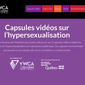 Hypersexualisation : analyses, vidéos, entrevues, outils