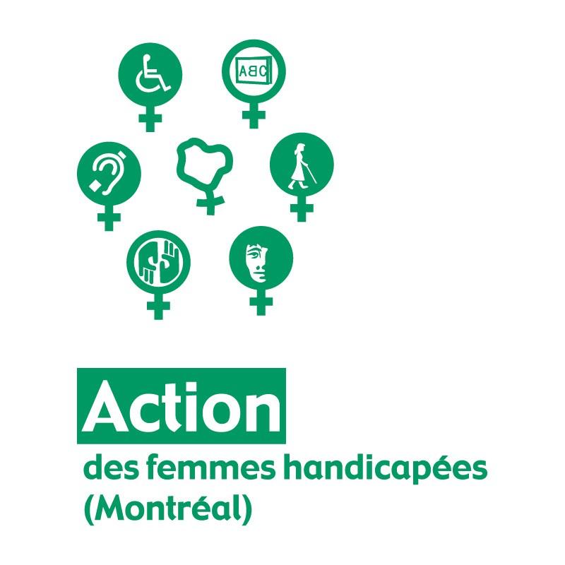 Logo Action des femmes handicapées (Montréal)