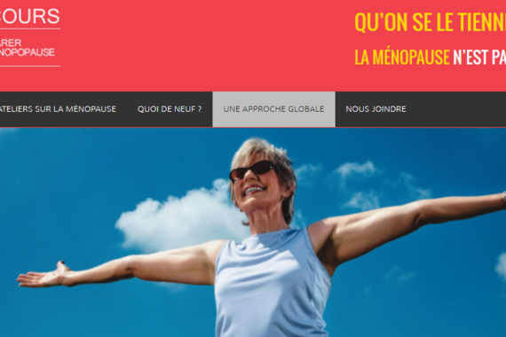 Ménosecours : un site Web unique sur la ménopause