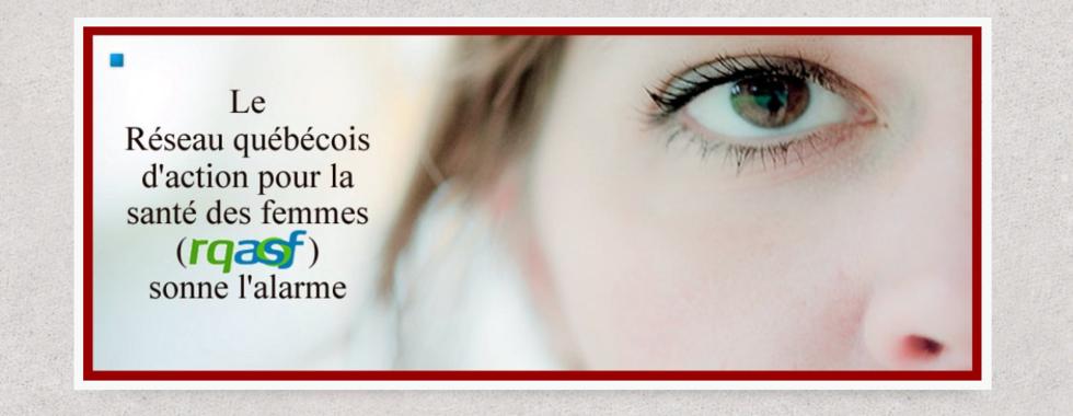 Santé mentale au Québec : le RQASF sonne l'alarme